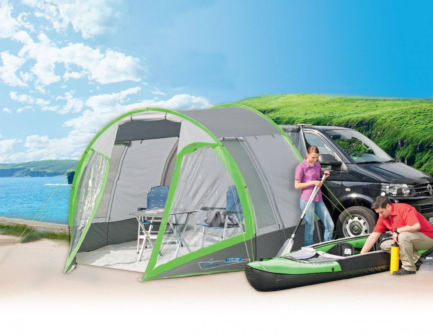 Van Awning Travel Light